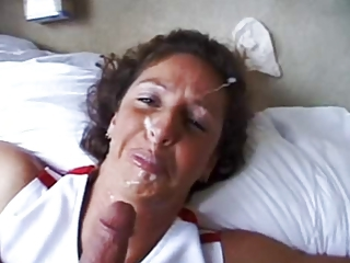 Amateur Cumshot Facial Homemade Mature Pov