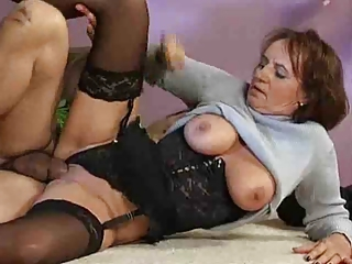 Clothed Hardcore Lingerie Stockings Teacher