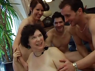 European French Groupsex Mom Old And Young