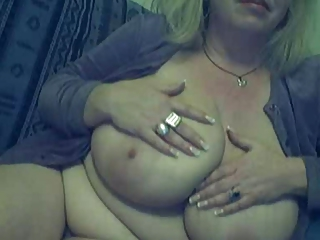 Big Tits Chubby Mature Natural  Solo Webcam Wife