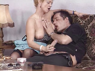 European German Handjob  Wife