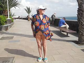 Amateur Outdoor Public Wife