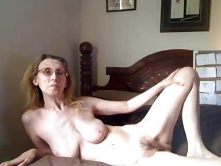 Amateur Glasses Hairy Homemade Mom  Skinny