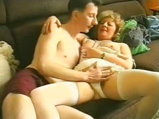 Amateur Lingerie Mom Old And Young Stockings