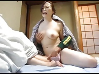 Asian Japanese Mom Old And Young Panty