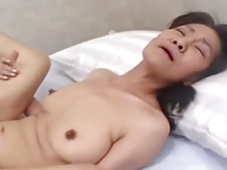 Amateur Asian Japanese Mom Nipples Skinny Small Tits