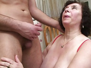 Big Tits Brunette Mom Natural Old And Young  Small Cock