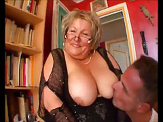 Big Tits Chubby European French Glasses Licking Mom Natural Nipples Old And Young  Teacher