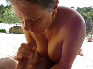 Amateur Handjob Outdoor Pov