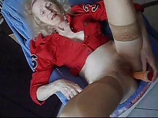 Amateur Dildo Homemade Masturbating Skinny Toy Wife