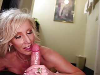 Blowjob Handjob Mom Pov