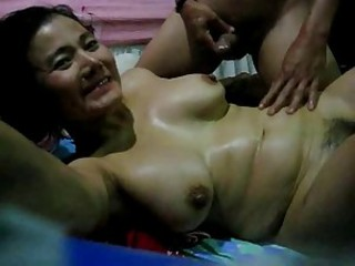 Amateur Asian Homemade  Wife