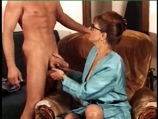 Big Cock European French Glasses Handjob Mom Old And Young Teacher