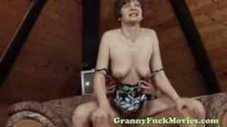 Hardcore Mom Natural Nipples Old And Young Riding