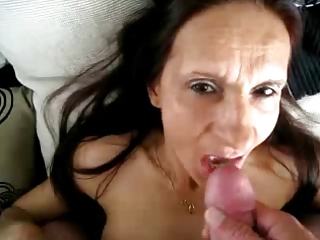 Amateur Brunette Cumshot Homemade Older Pov Skinny Swallow Wife
