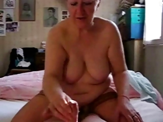 Amateur Chubby Handjob Homemade Pov  Wife