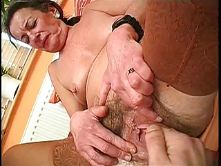 Clit Close up Fisting Hairy Pussy