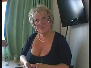 Big Tits European French Glasses Natural Teacher