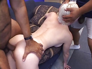 Anal Ass Blowjob Mature Threesome