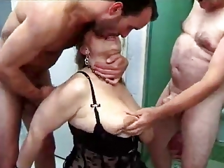 European Forced French Hardcore Lingerie Mom Old And Young Threesome