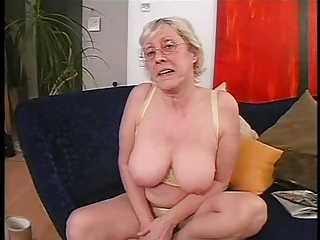 Big Tits Glasses Lingerie Mom Natural