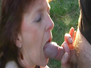 Amateur Blowjob Outdoor Small Cock