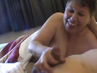 Amateur Handjob Homemade Older Pov Small Cock Wife