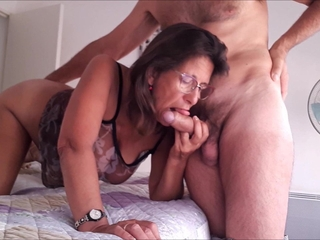 Blowjob Granny Old And Young