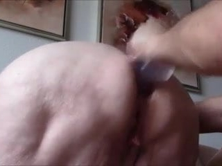 Anal Granny Toy Wife