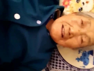 Asian Chinese Clothed Creampie Granny