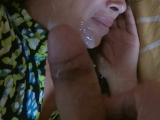 58 year old mother cumshots on her face hairy pussy tits